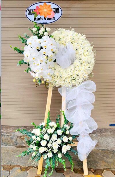 Vòng hoa tang lễ An Giang