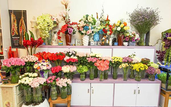 Cửa hàng hoa tươi Bến Tre