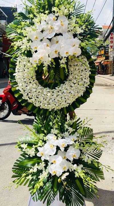 hoa tang lễ đám tang bình định