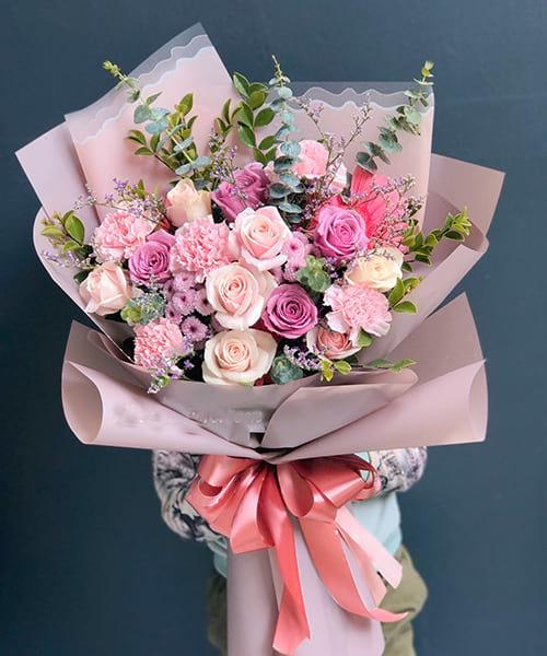 bó hoa đẹp bình định