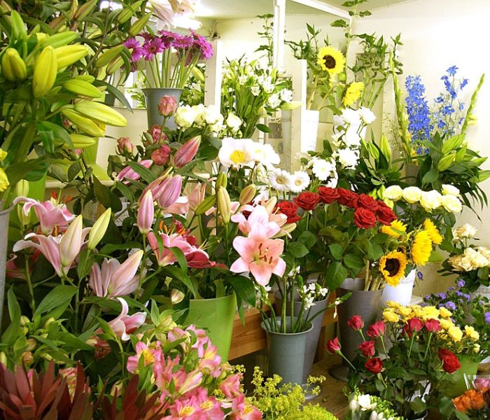 Cửa hàng hoa tươi tại Thuận An