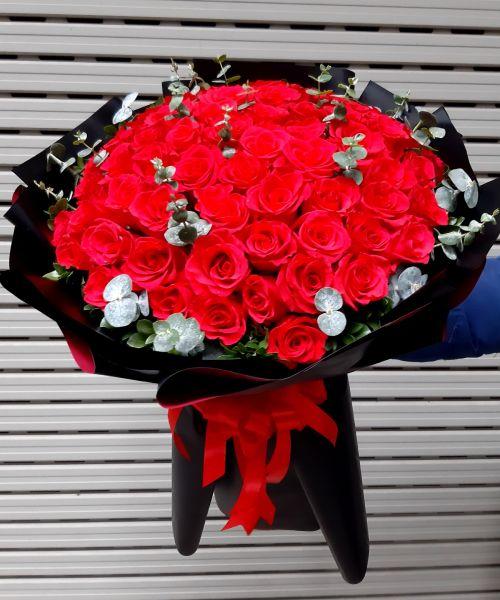 Bó hoa hồng tại shop hoa tươi Bình Thuận