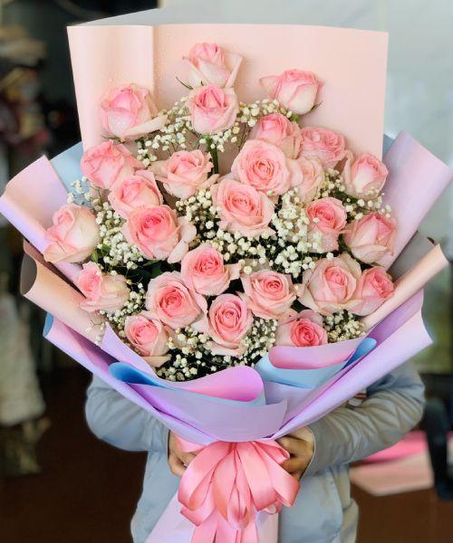 Bó hoa chúc mừng tại shop hoa tươi Cao Bằng