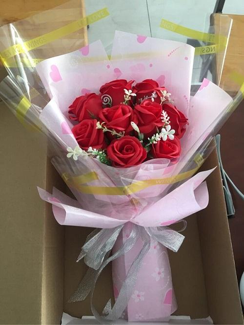 Bó hoa sáp tuyệt đẹp tại shop hoa tươi Điện Biên