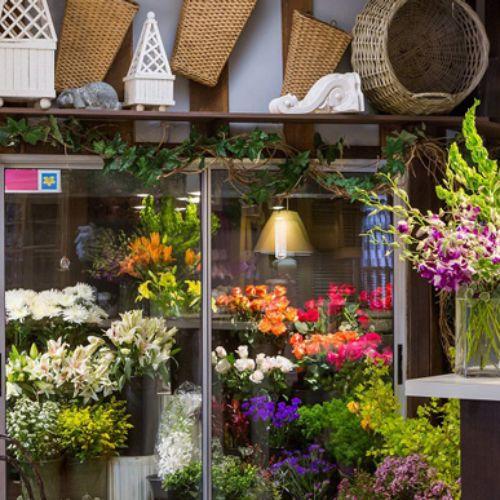 Cửa hàng hoa tươi tại Điện Biên