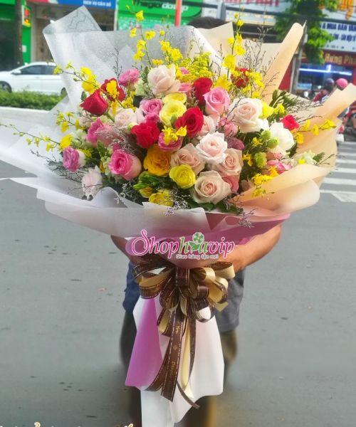 Bó hoa tình yêu tại shop hoa tươi Đồng Nai