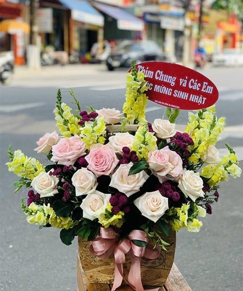 Lãng hoa đẹp chúc mừng sinh nhật Ba Vì
