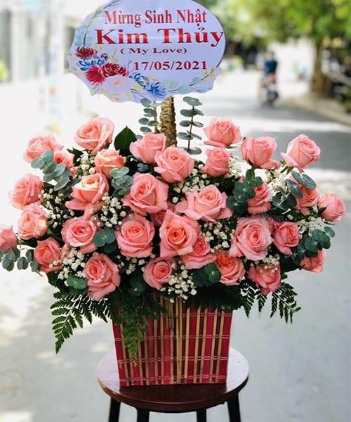 Lãng hoa đẹp mừng sinh nhật Sóc Sơn