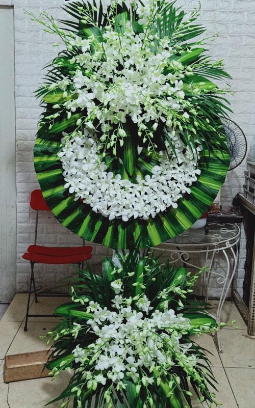 Vòng hoa tang lễ Thanh Trì
