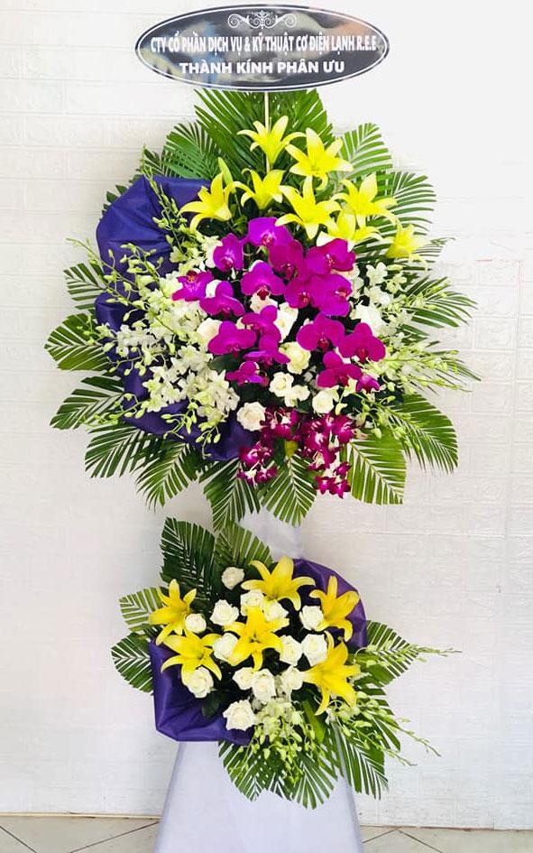 Vòng hoa tang lễ Thường Tín