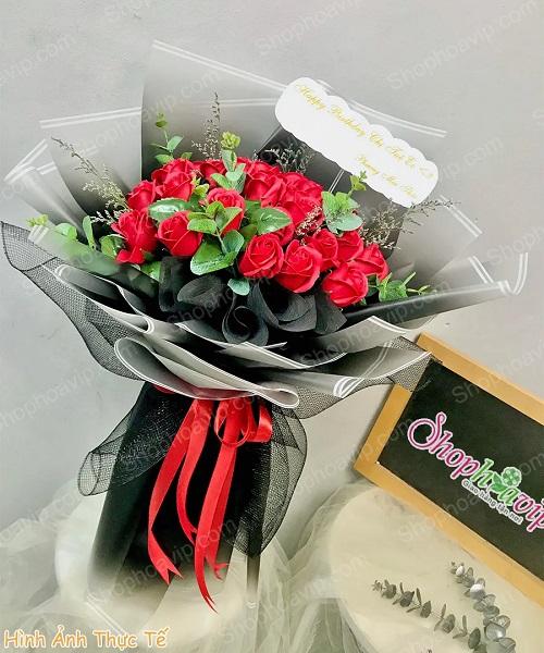 Bó hoa sáp Ứng Hòa