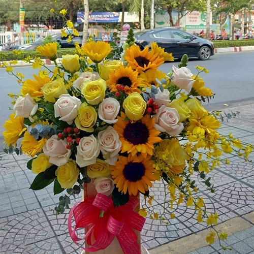 hoa sinh nhật tại hải phòng
