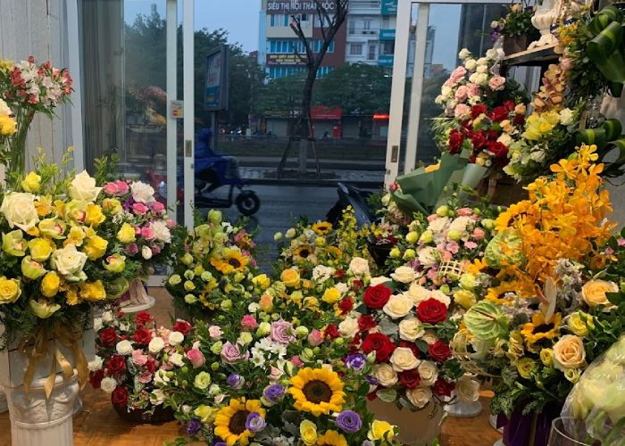 Cửa hàng hoa tươi tại Thừa Thiên Huế