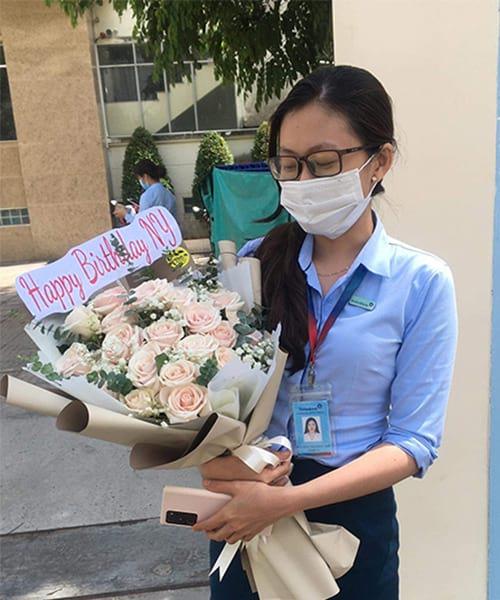 Bó hoa đẹp tại shop hoa tươi Hương Thủy