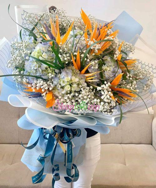 Bó hoa tươi đẹp tại shop hoa tươi Hưng Yên