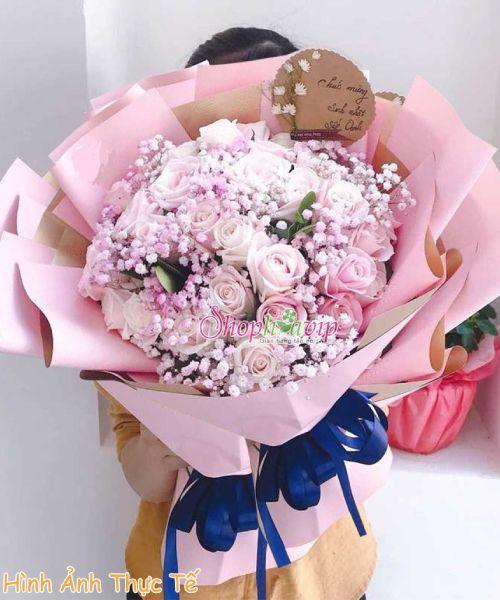 Bó hoa đẹp tại shop hoa tươi Khánh Hòa