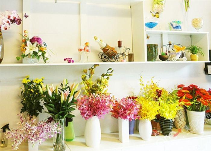 Cửa hàng hoa tươi tại Kon Tum