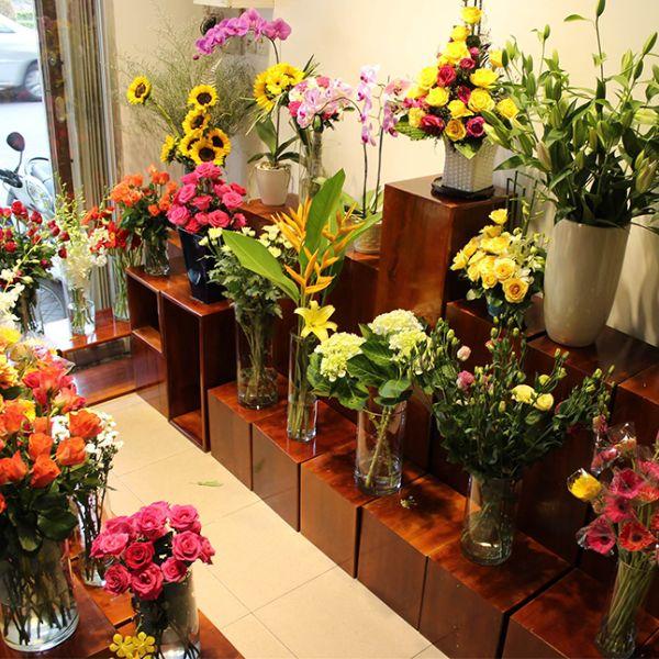 Cửa hàng hoa tươi tại Ninh Bình