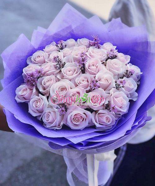 Bó hoa hồng đẹp tại shop hoa tươi Phú Thọ