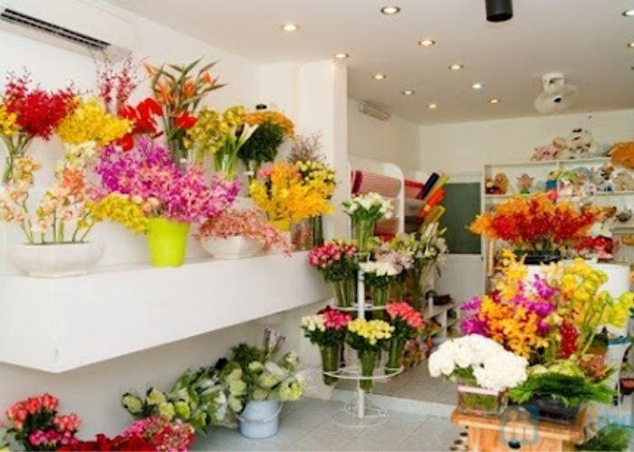 Cửa hàng hoa tươi tại Thái Bình