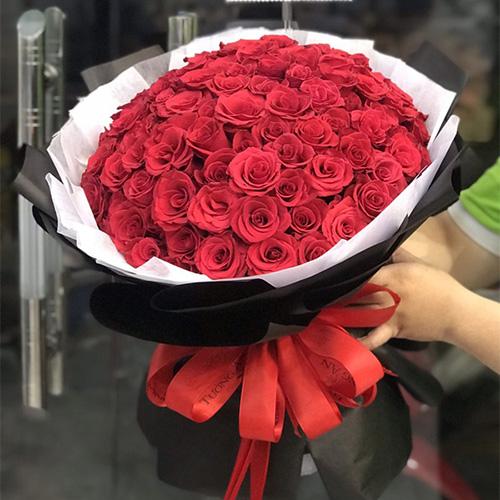 Bó hoa đẹp tại shop hoa tươi Quận 12