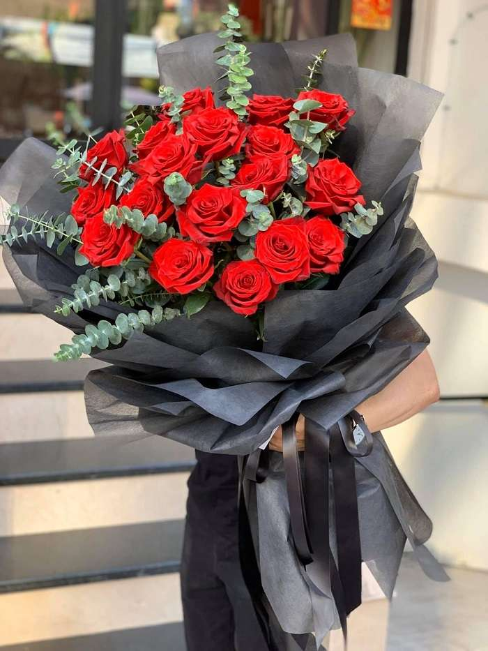 Hoa hồng cổ Hải Phòng làm quà tặng